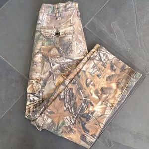 Boys Realtree Cargo Camo Pants * Size L(10-12)